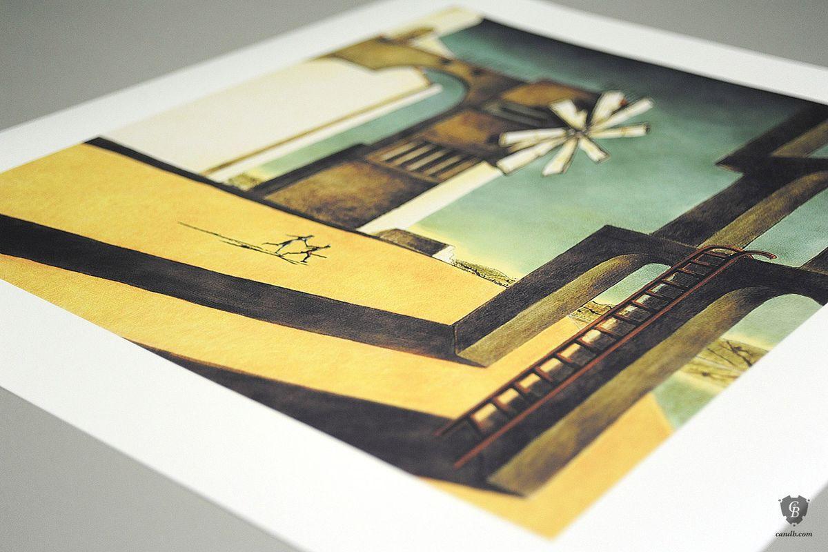 Ico box art print