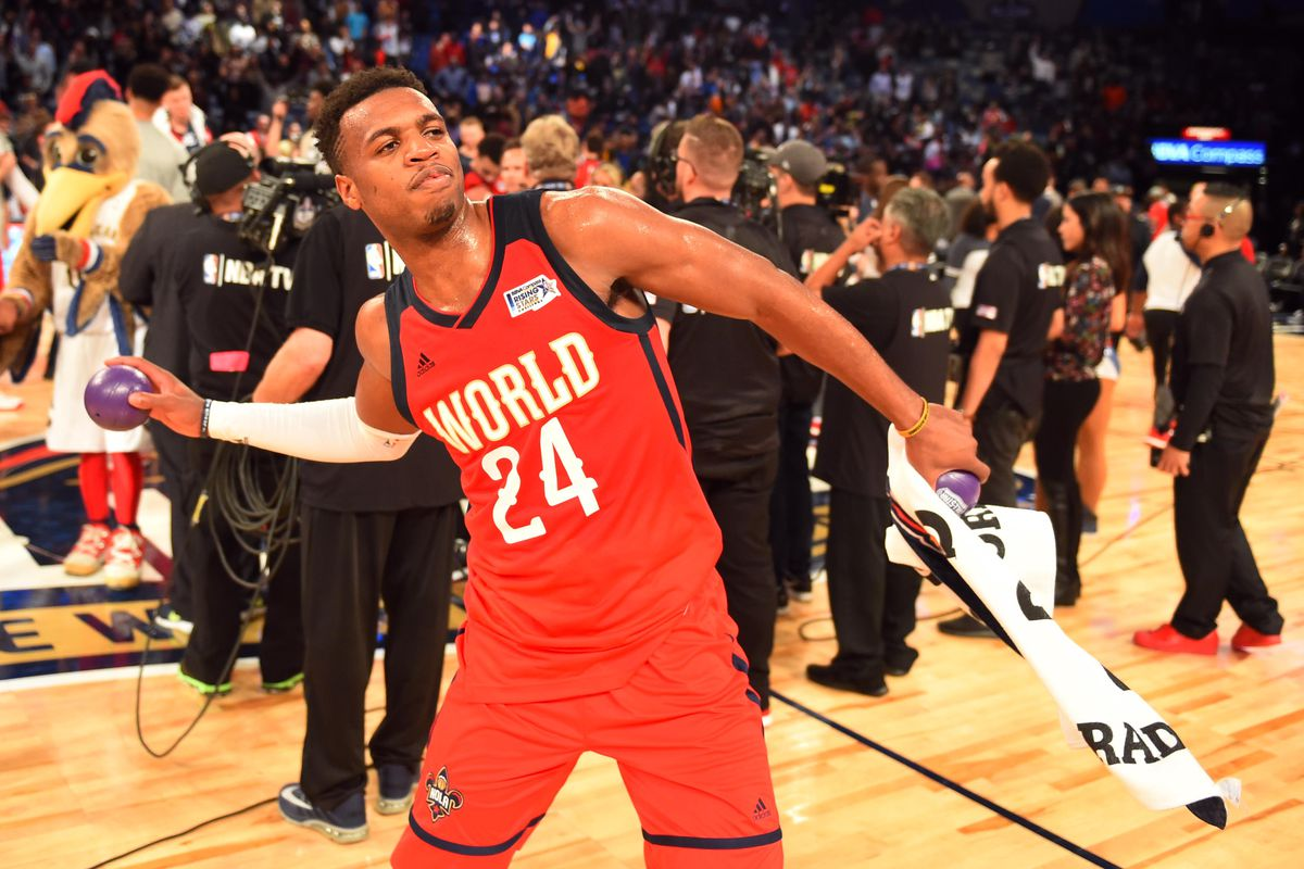 NBA: Rising Stars Challenge-U.S. vs World