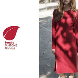 """<b>Jacquemus</b> La Robe Pull in Red, <a href=""""http://www.mnzstore.com/collections/new-arrivals/products/la-robe-pull"""">$385</a> at Maryam Nassir Zadeh"""