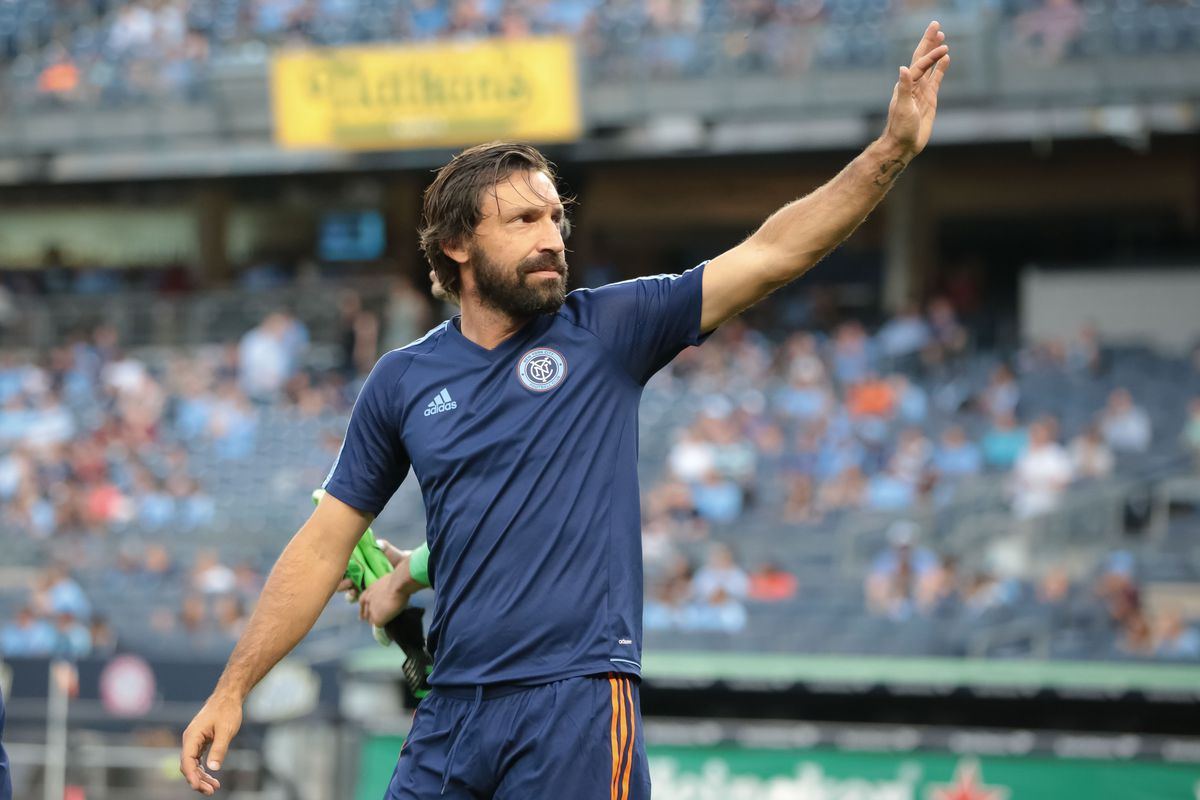 Andrea Pirlo set to depart NYCFC in December Hudson River Blue