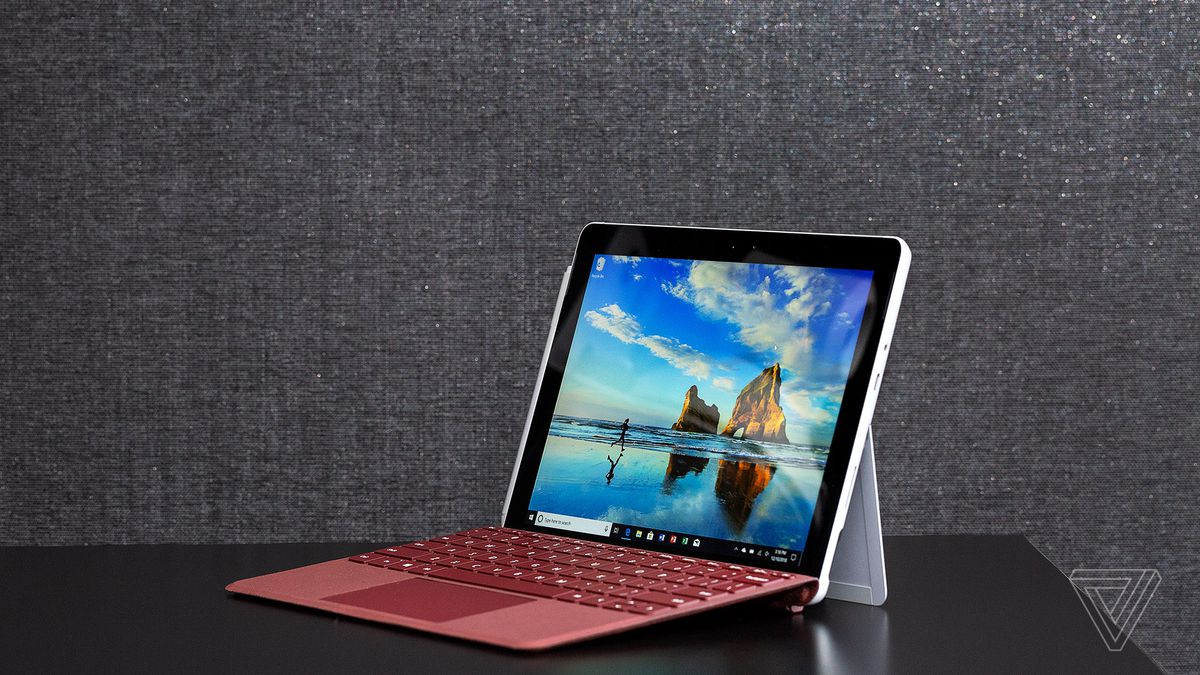 microsoft surface go with lte review the best netbook the verge