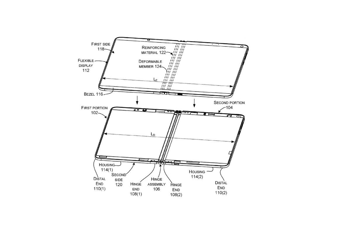 Microsoft Is Working On Foldable Surface Devices With Liquid