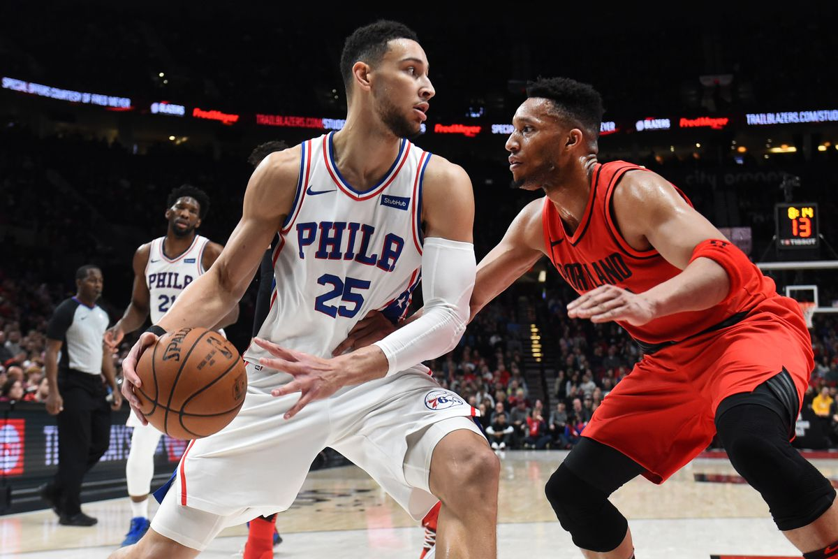 Sixers Vs  Trail Blazers  Game Preview