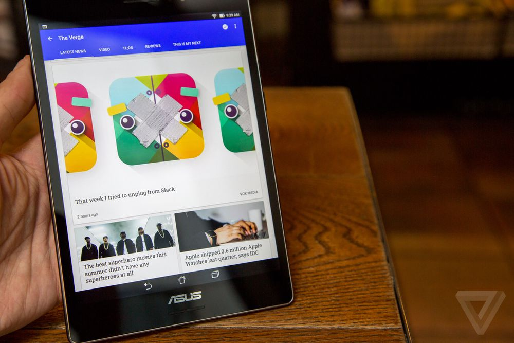 Asus ZenPad S 8 0 review | The Verge