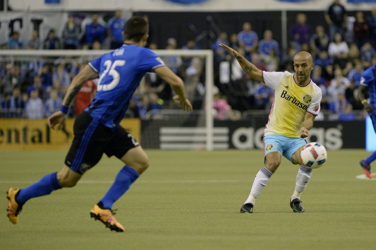 The Montréal Impact neutralized Federico Higuain in their 2-0 win over the Crew.