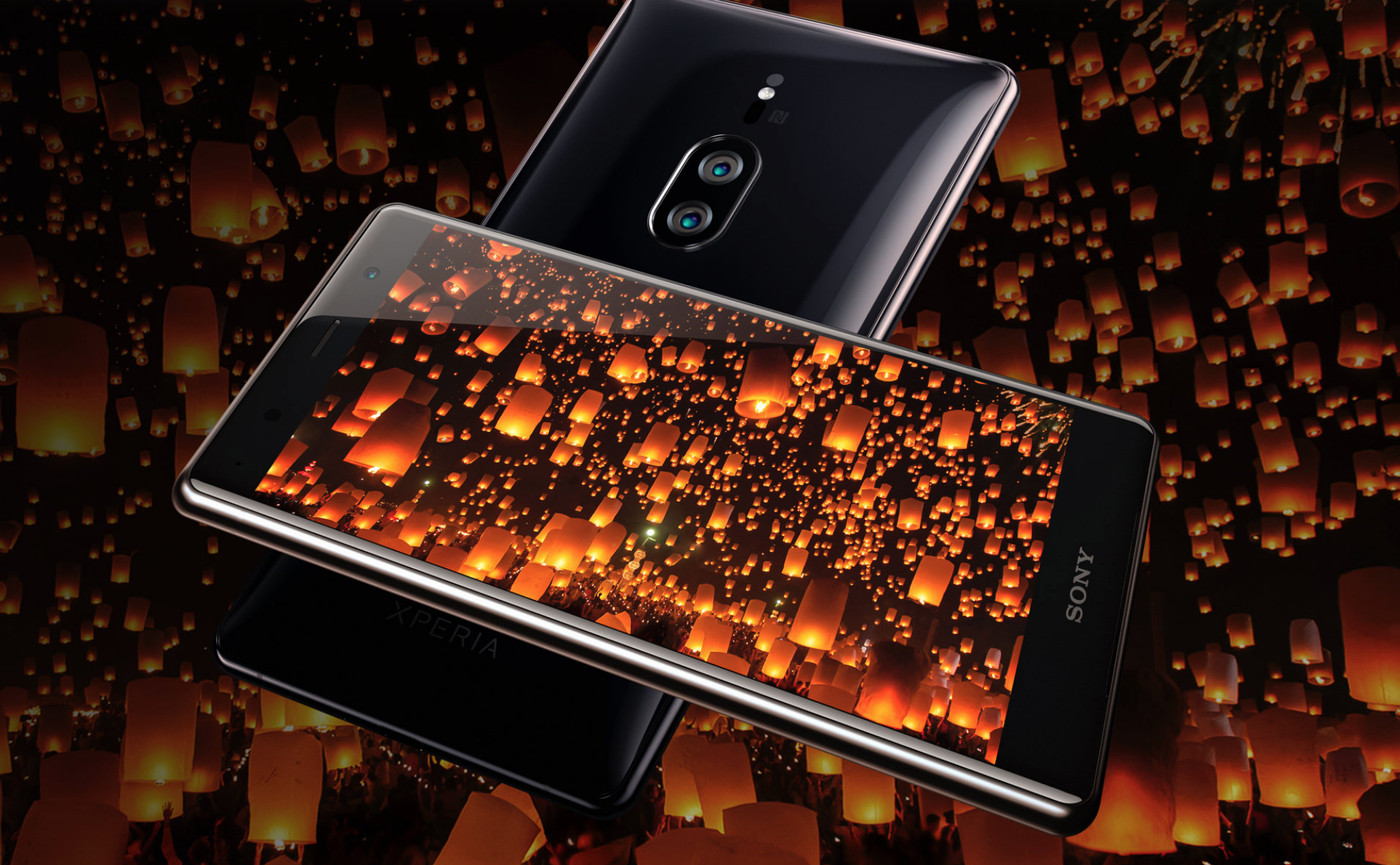Sony's Xperia XZ2 Premium has a 4K display and cameras built for