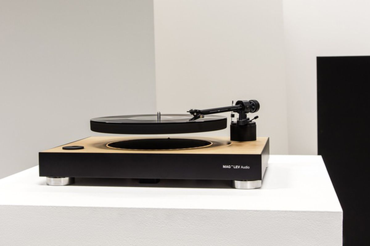 This Turntable Makes Your Records Float With Magnets The
