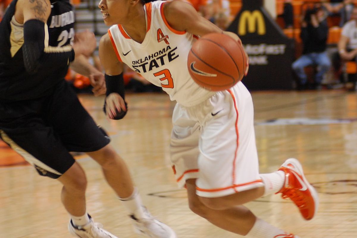 Tiffany Bias drove early and often on Sunday. 18 of her 24 points were in the lane in Sunday's victory. Over 56% of the OSU offense was generated in the paint.