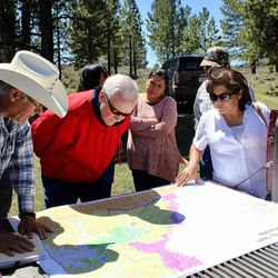 Sen. Orrin Hatch, R-Utah, visited San Juan County on Thursday to meet with local residents over the controversial Bears Ears National Monument designation. Hatch and other members of Utah's congressional delegation are pushing to rescind the action.