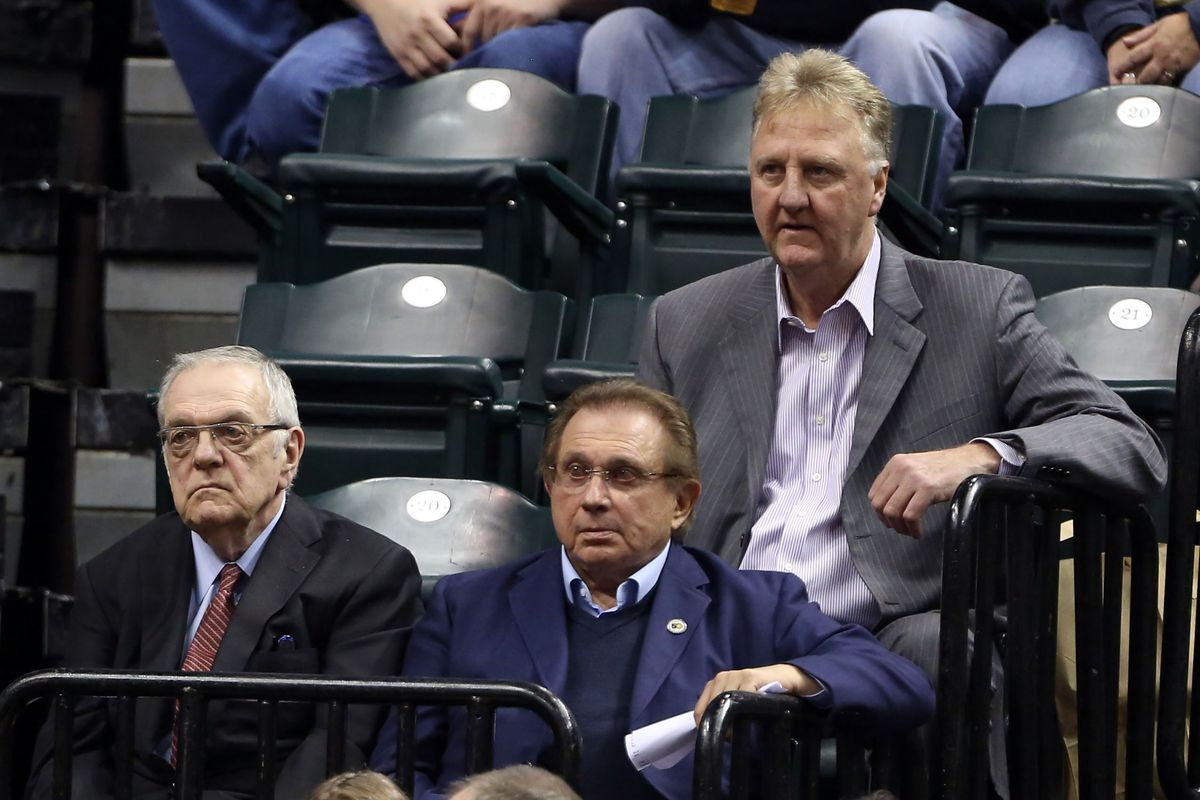 f6cf8f0f665 Pacers president Larry Bird said the idea of trading Paul George was 'all  fake news'