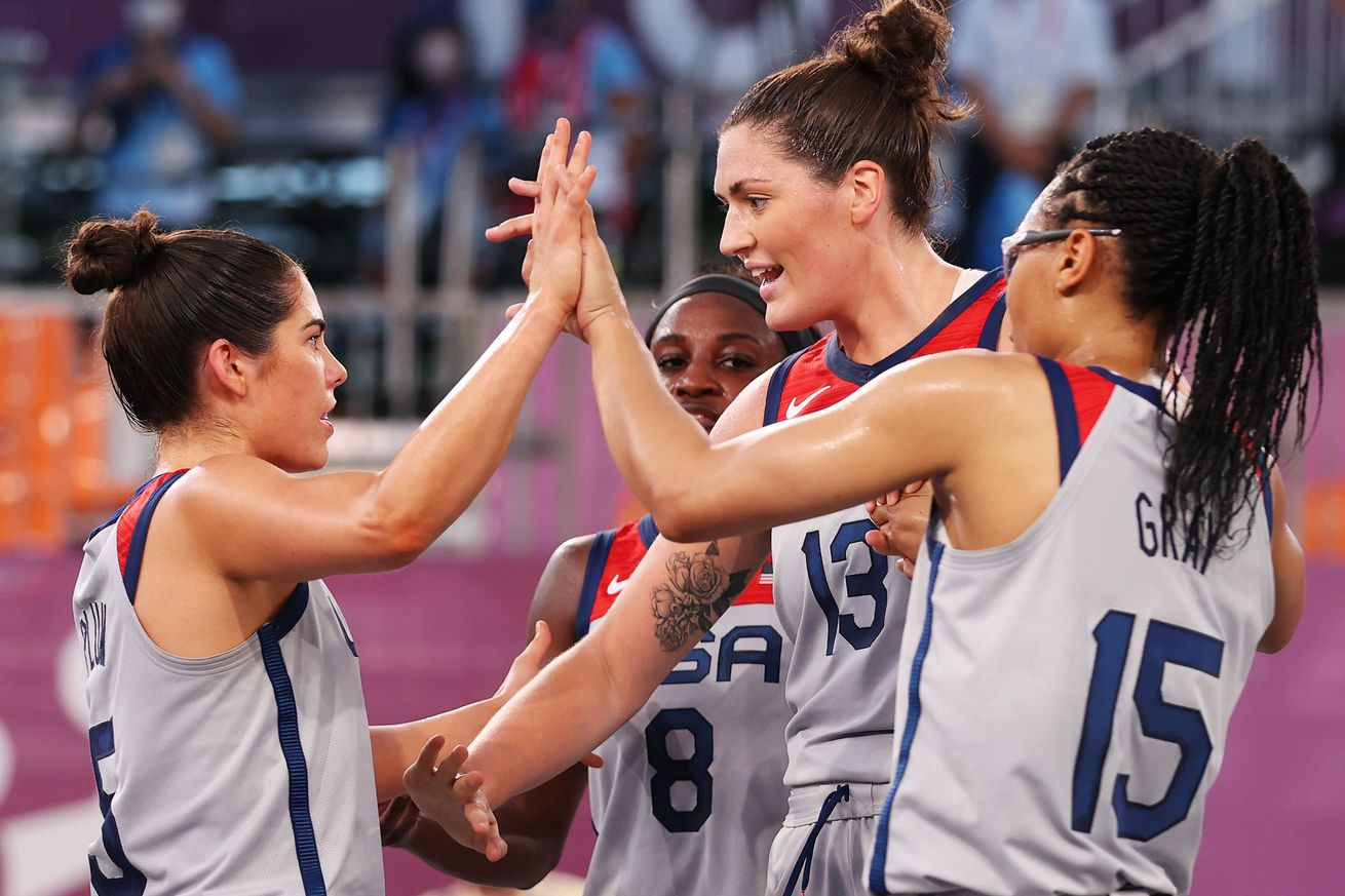 3x3 Basketball - Olympics: Day 1
