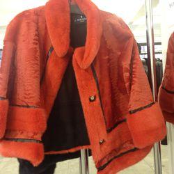 Afghan lamb jacket, $5,500 (originally $22,000)
