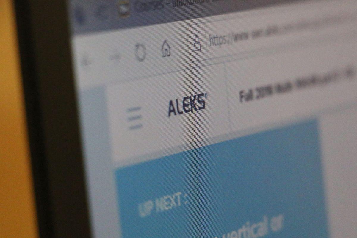 ALEKS's online math program