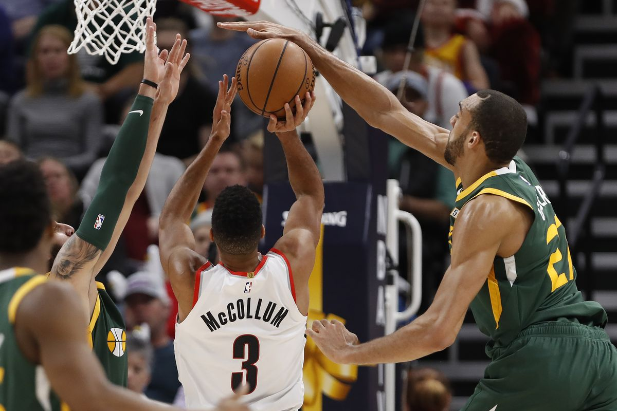 Image result for rudy gobert blocks usa today