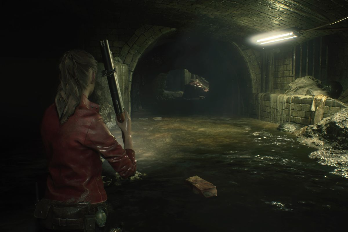 Resident Evil 2 Claire Walkthrough Sewers Find The Plugs Solve
