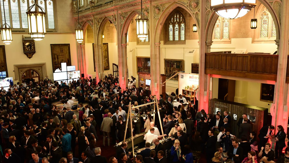 The 2015 World's 50 Best awards ceremony in London.