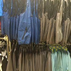 Men's vests and jackets, $35