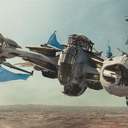 """In this film image released by Disney, a scene is shown from """"John Carter."""""""
