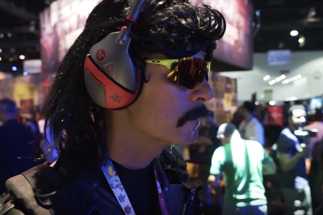 "Guy ""Dr DisRespect"" Beahm at E3."
