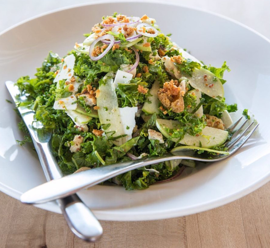 A salad at Vinaigrette