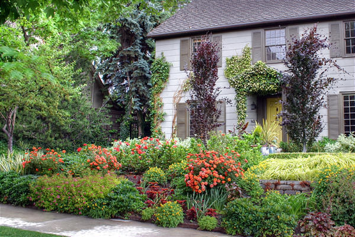 Well Landscaped Yard Boosts Value Deseret News