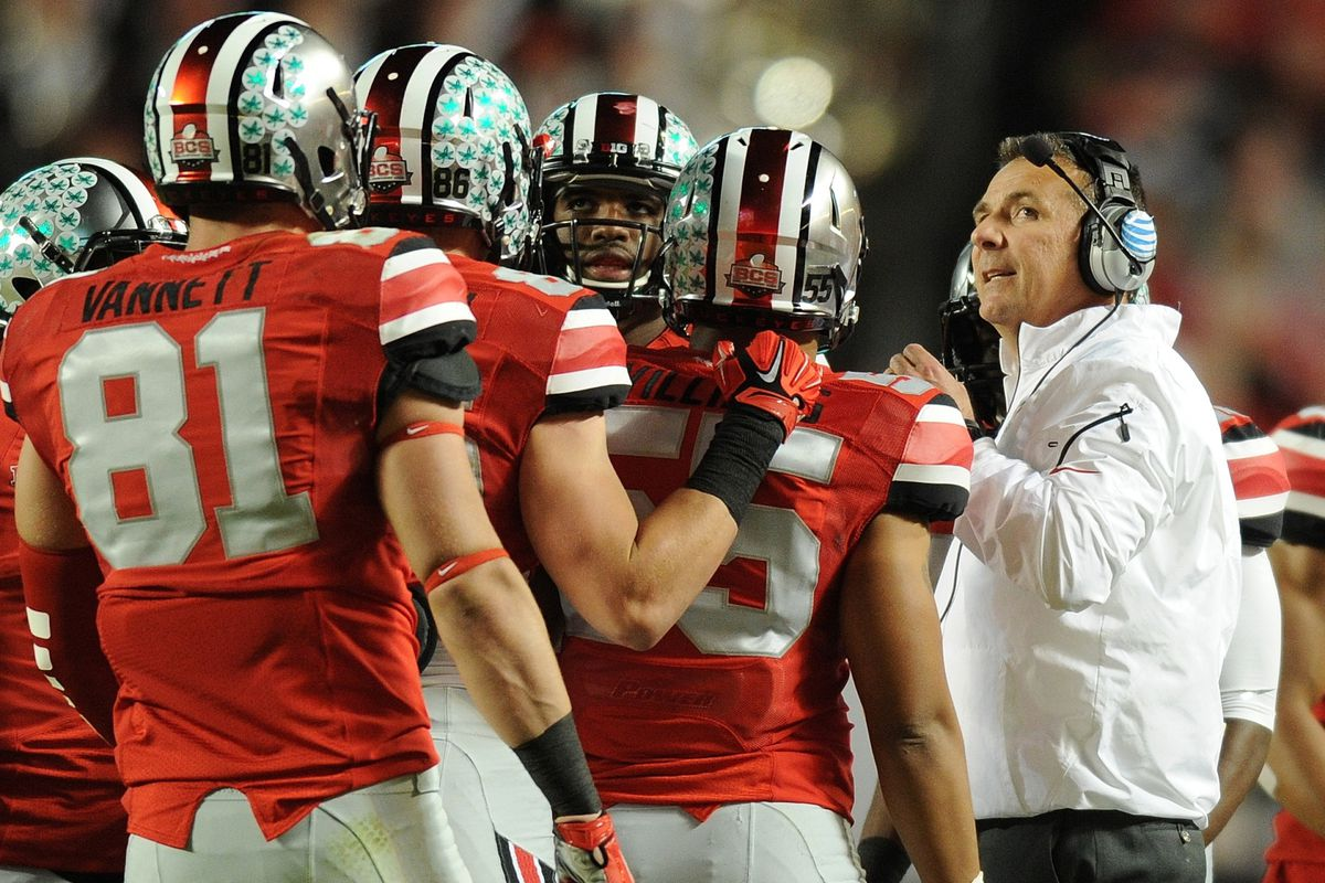 Ohio State, about to lose the Orange Bowl