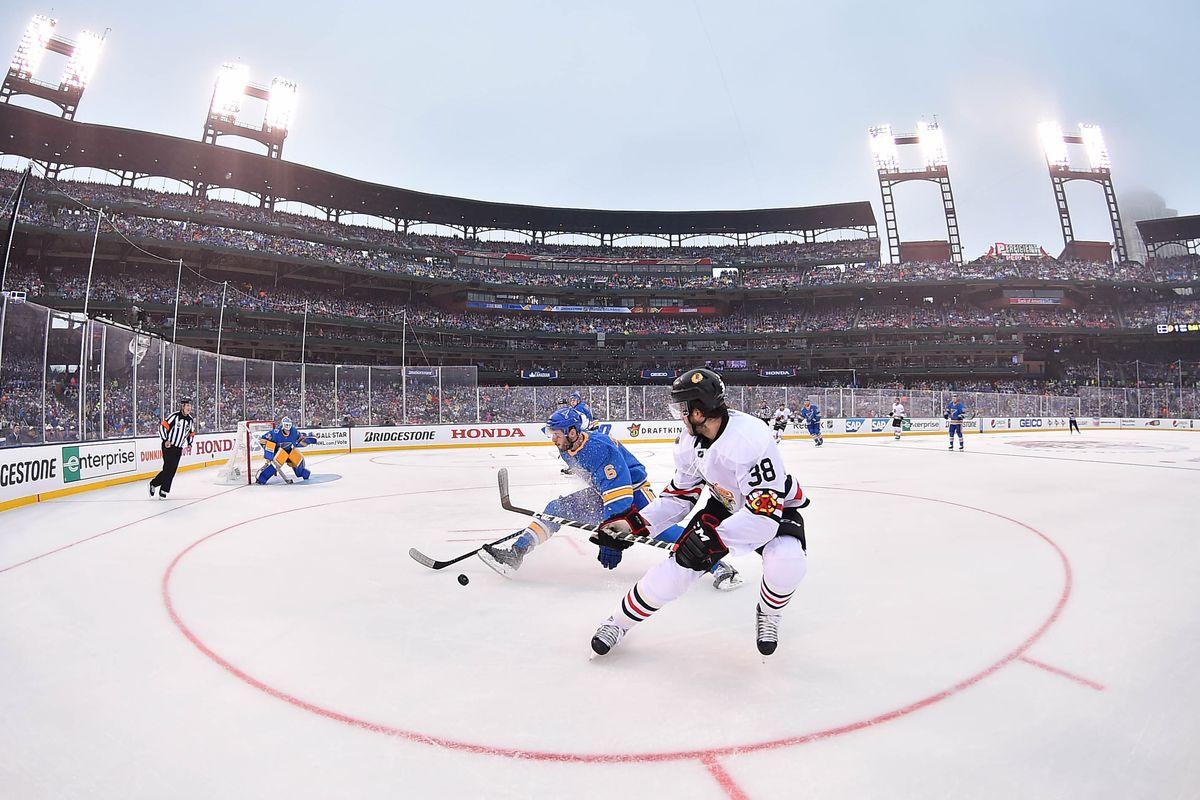NHL: Winter Classic-Chicago Blackhawks at St. Louis Blues