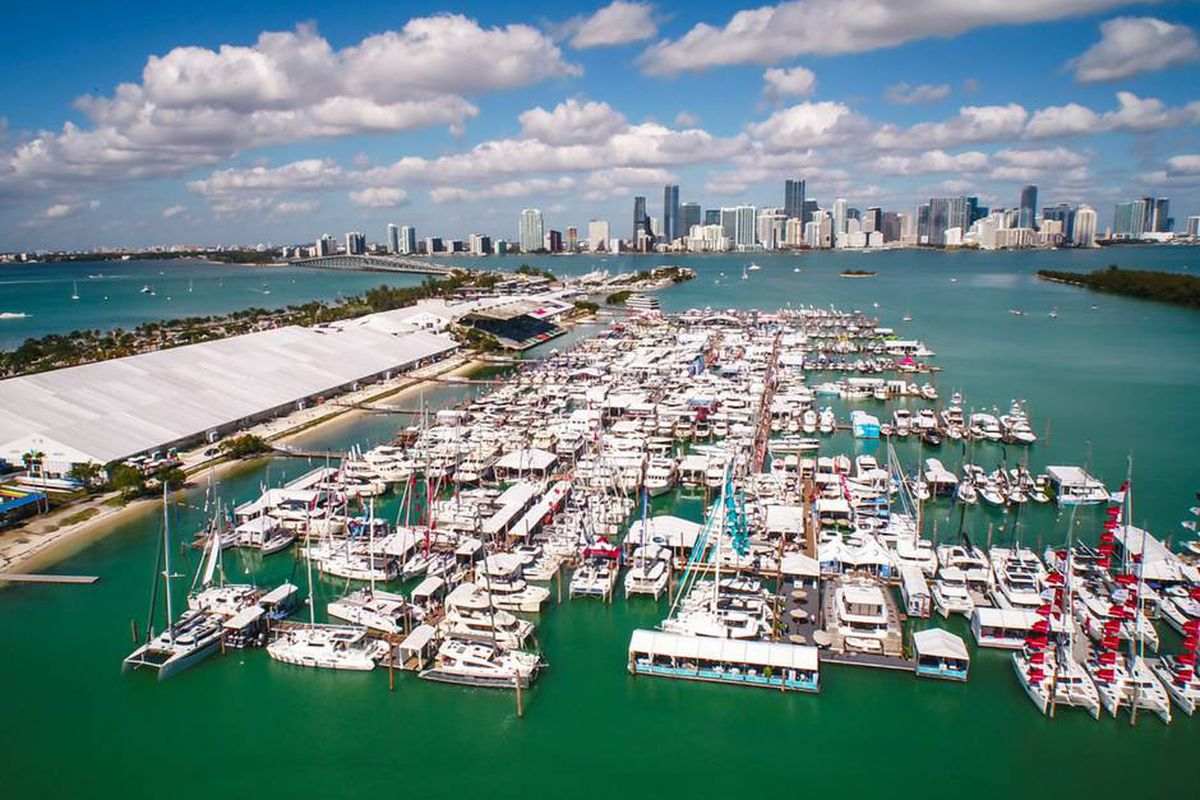 See a driverless boat and more this weekend at the miami - Miami boat show ...