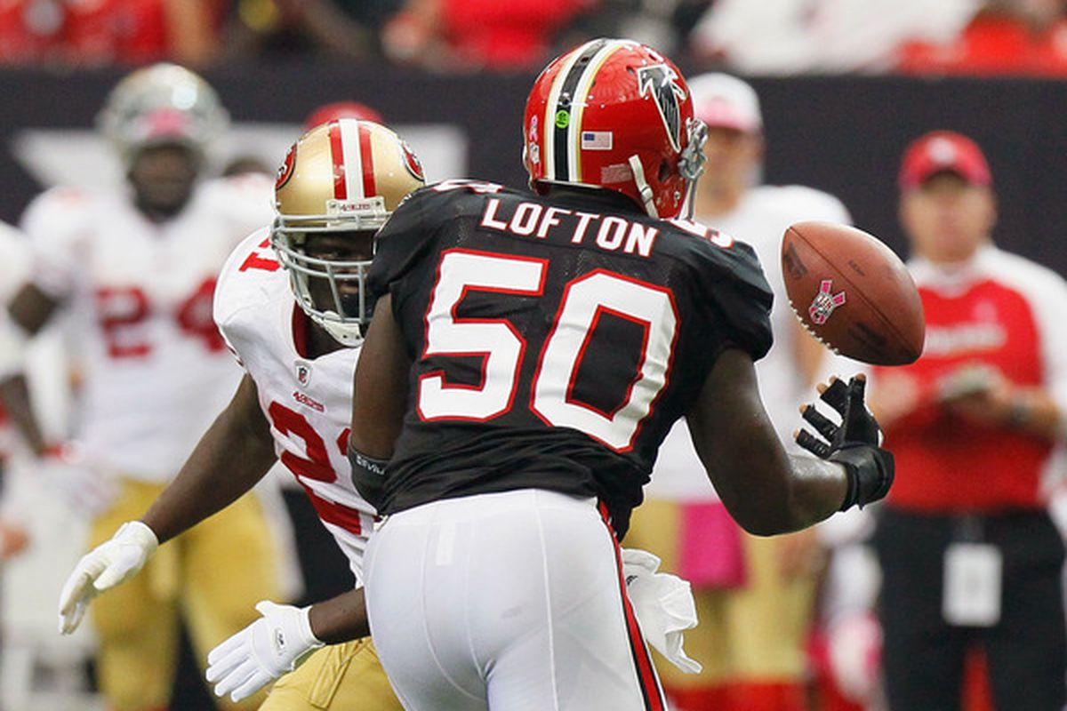 Remember when the 49ers sucked and Curtis Lofton was still under contract? Those were the days.