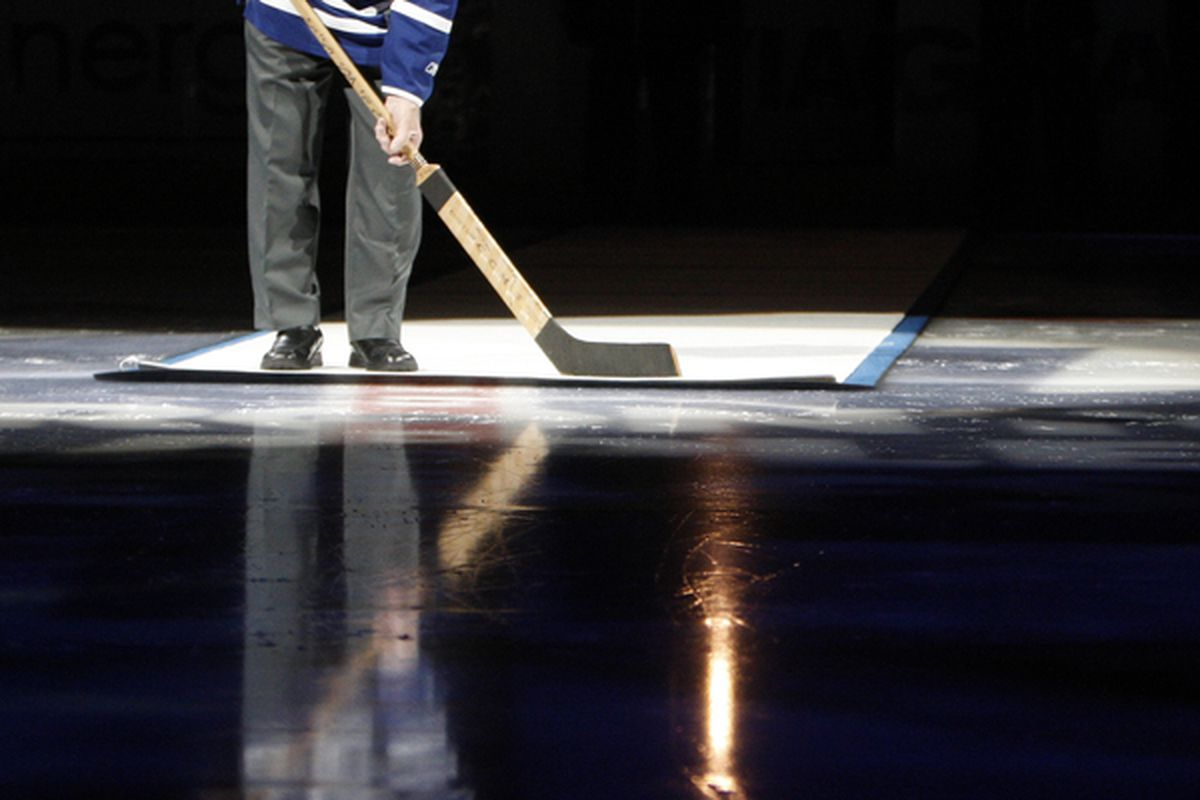 The Toronto Maple Leafs: playing like they're all 90 years old.