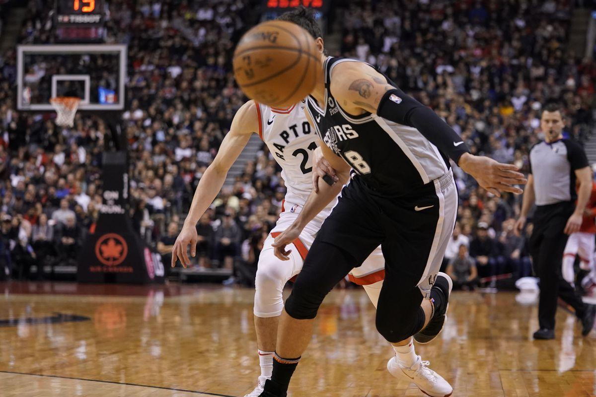 NBA: San Antonio Spurs at Toronto Raptors