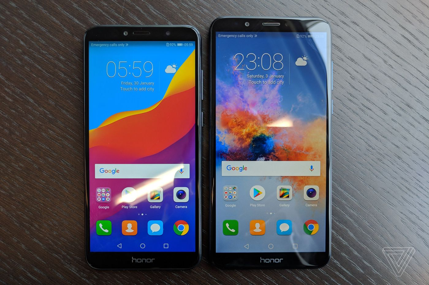 Honor's cheap 7A and 7C keep the headphone jack and ditch the notch