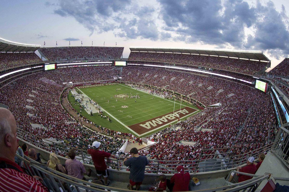 NCAA Football: Colorado State at Alabama