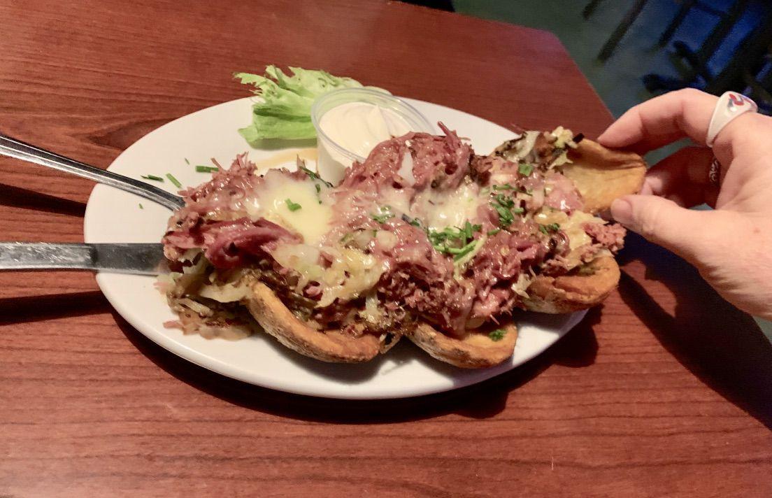 Irish nachos at Shanahan's Pub & Grill