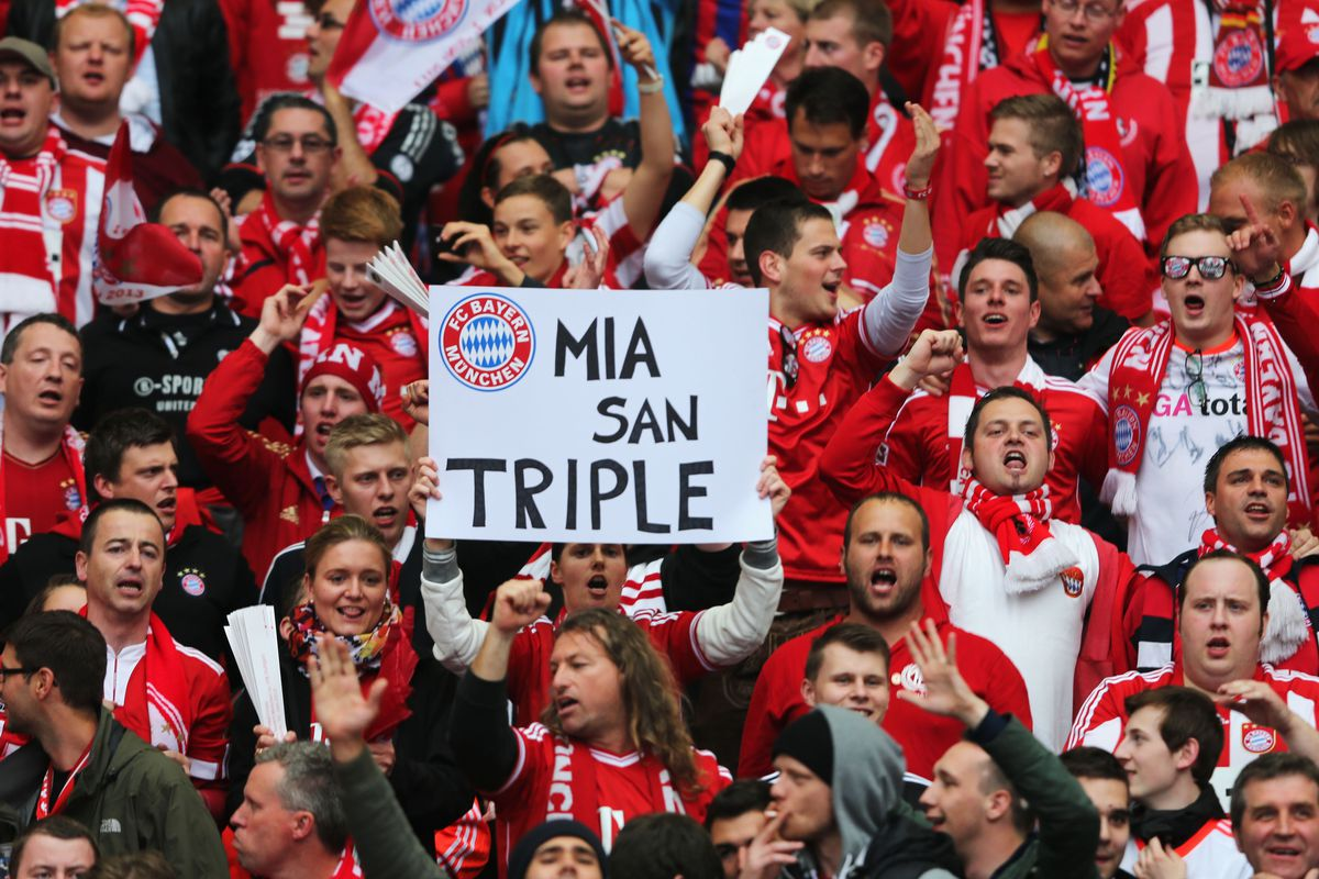 Bayern Munich Win The Treble Doing What Has Never Been