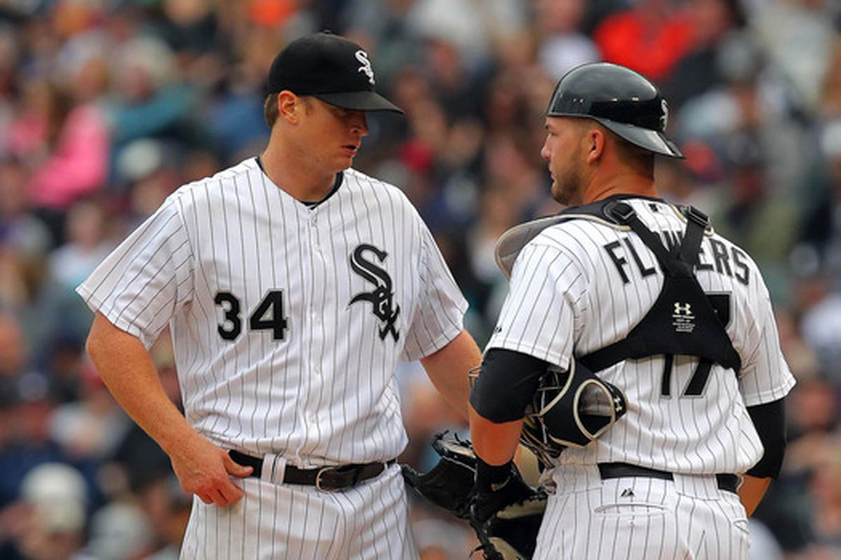 Flowers Ready To Guide White Sox Staff South Side Sox