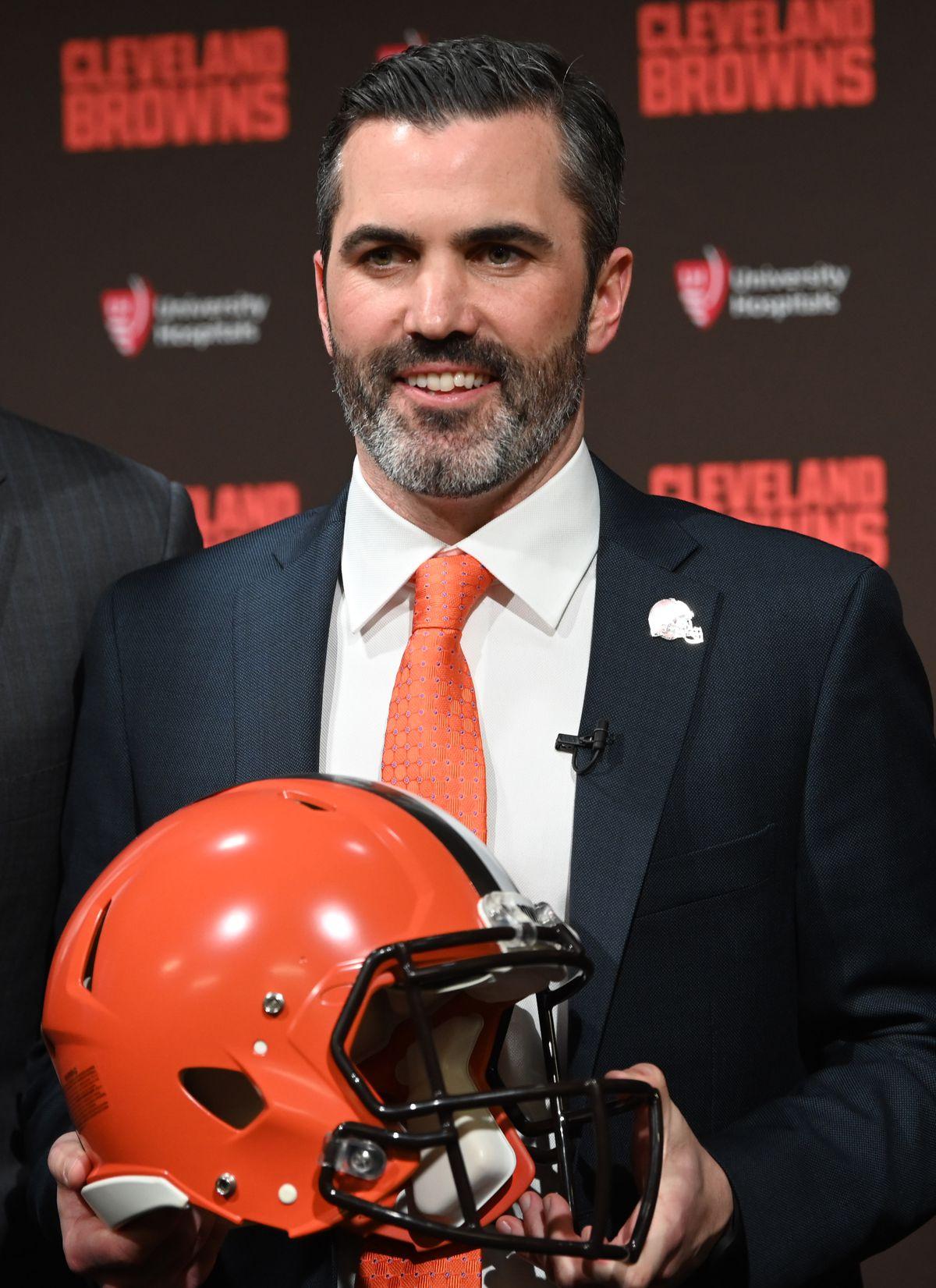 NFL: Cleveland Browns-Head Coach Kevin Stefanski Press Conference