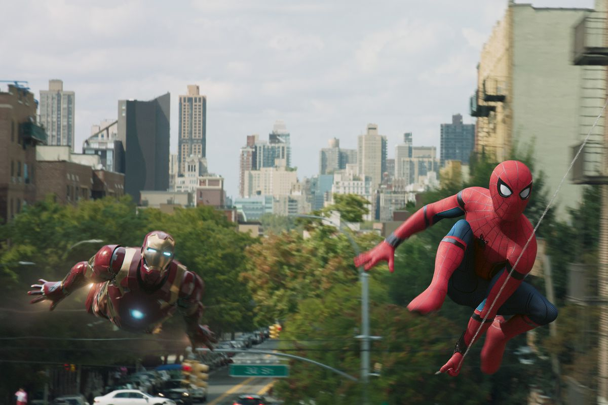 Spider-Man: Homecoming - Iron Man and Spider-Man