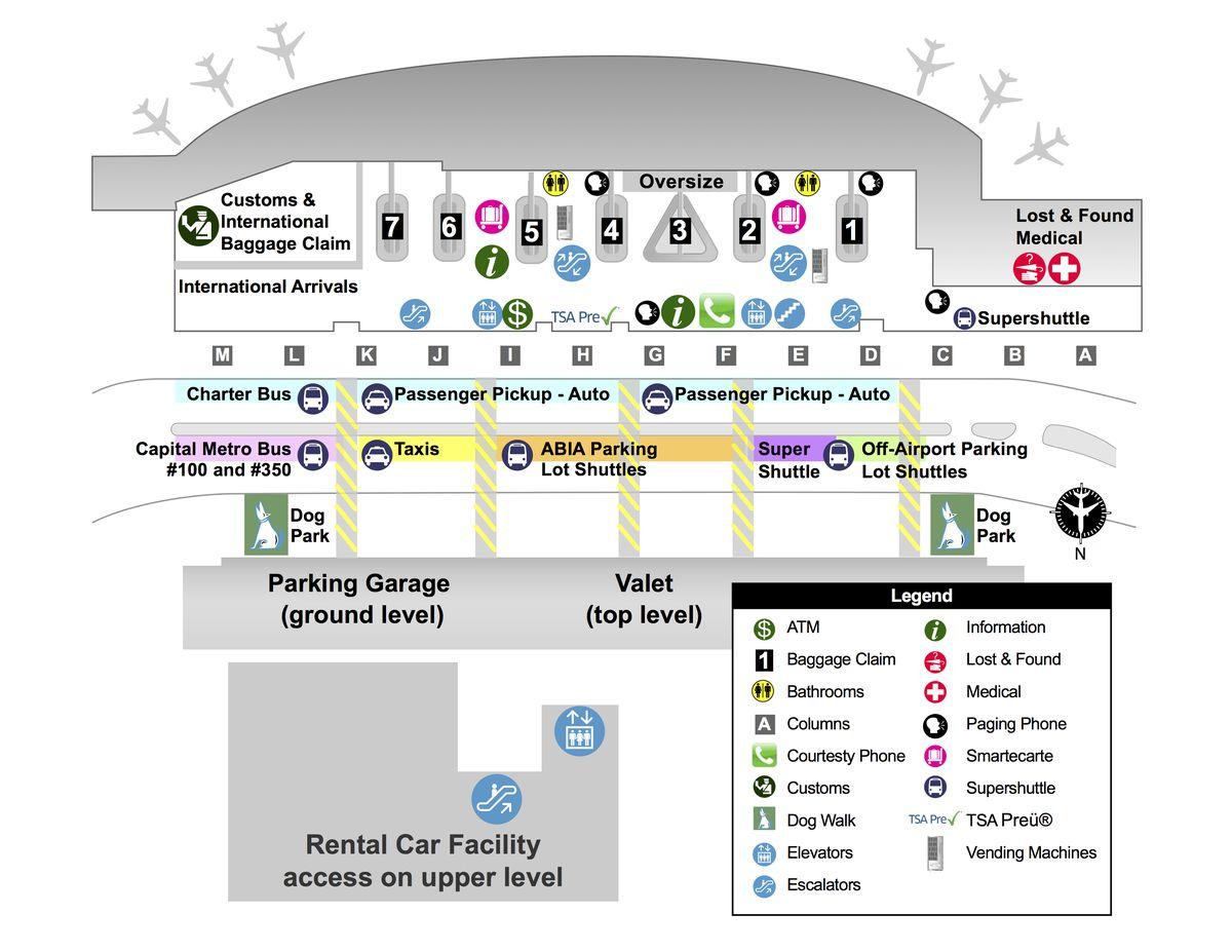 Austin Airport Map Austin Airport Map | Bedroom 2018
