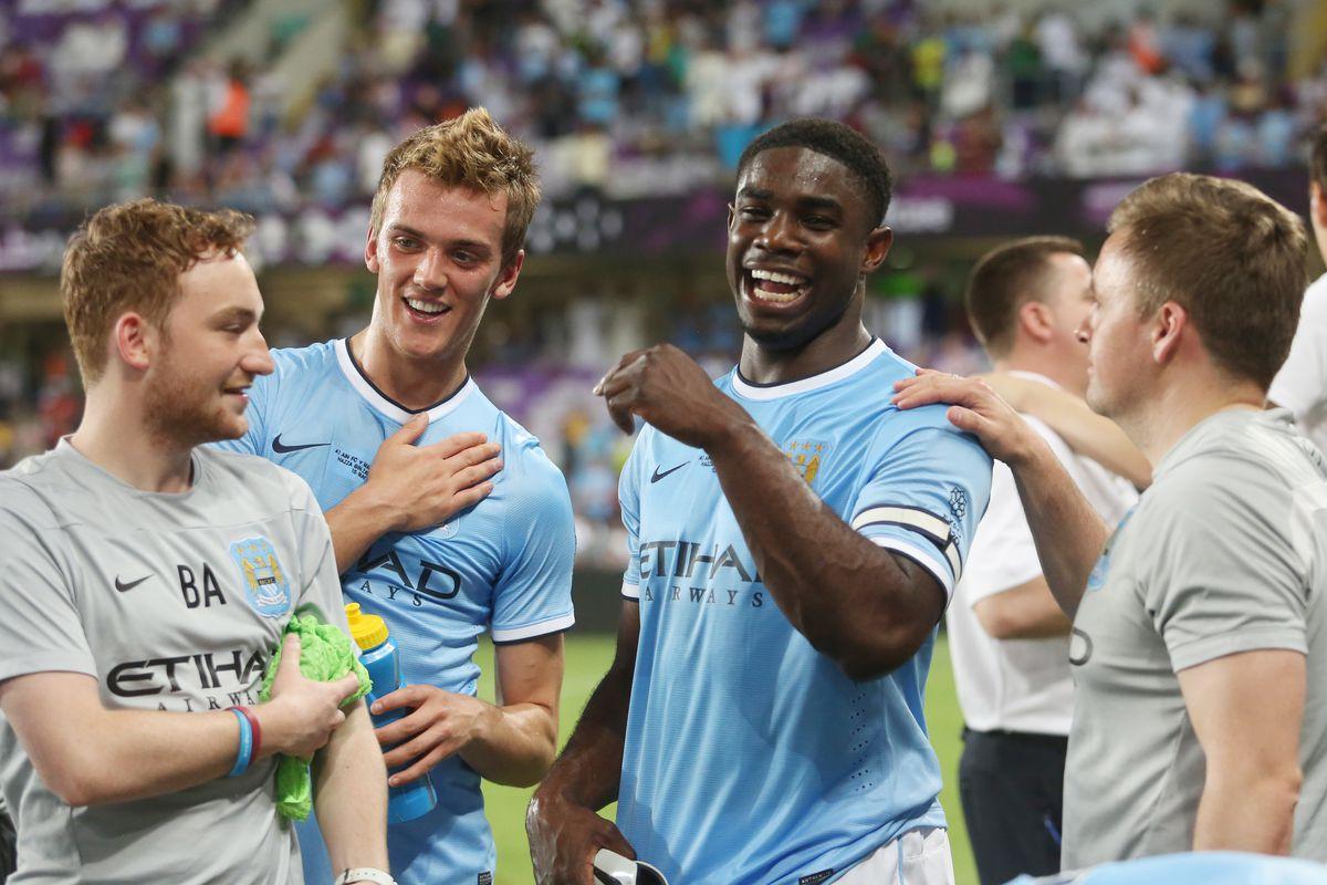 Soccer - Manchester City Post Season Tour - Day Four - Al Ain v Manchester City - Hazza Bin Zayed Stadium - Abu Dhabi