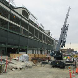1:47 p.m. West side of the ballpark -