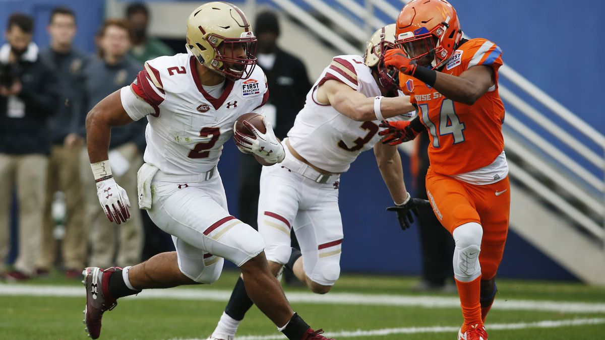 NCAA Football: SERVPRO First Responder Bowl-Boston College vs Boise State