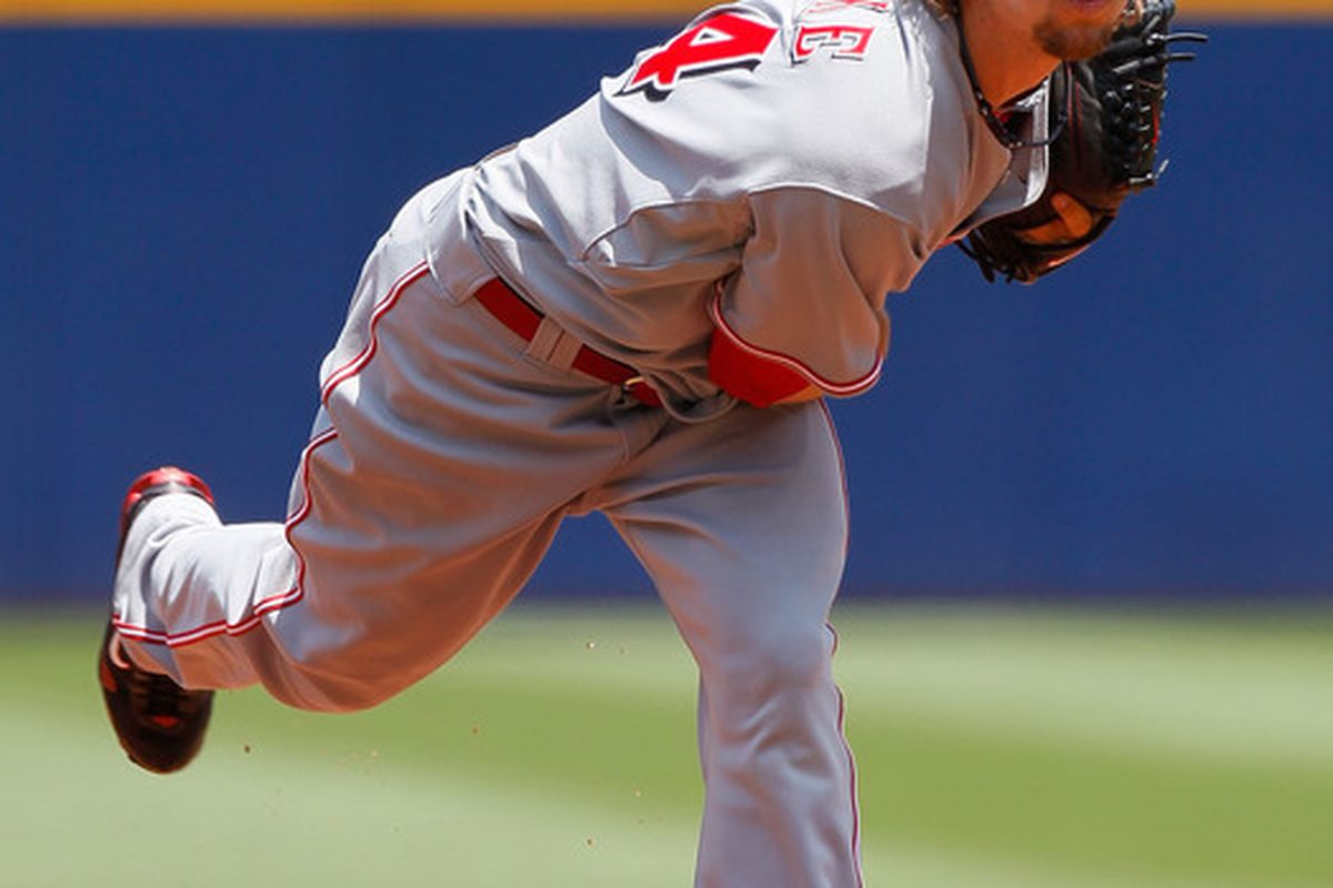 Can we use pitchf/x data to make a better projection of what to expect from Mike Leake in the immediate future?  Nick Steiner can.