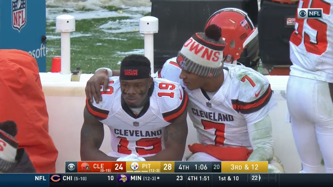 Browns vs. Steelers: Corey Coleman dropped Cleveland's last chance ...