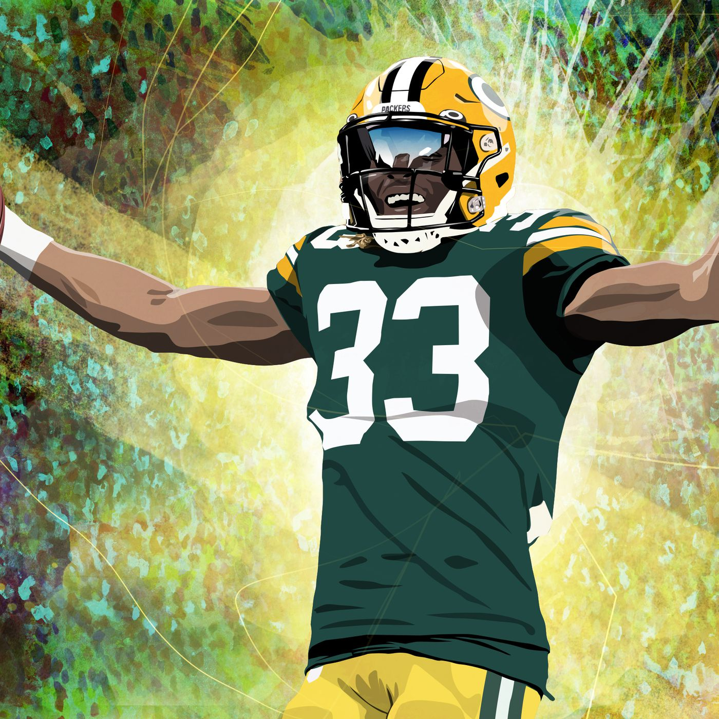The Evolution Of Aaron Jones And The Emergence Of A Packers Superstar The Ringer