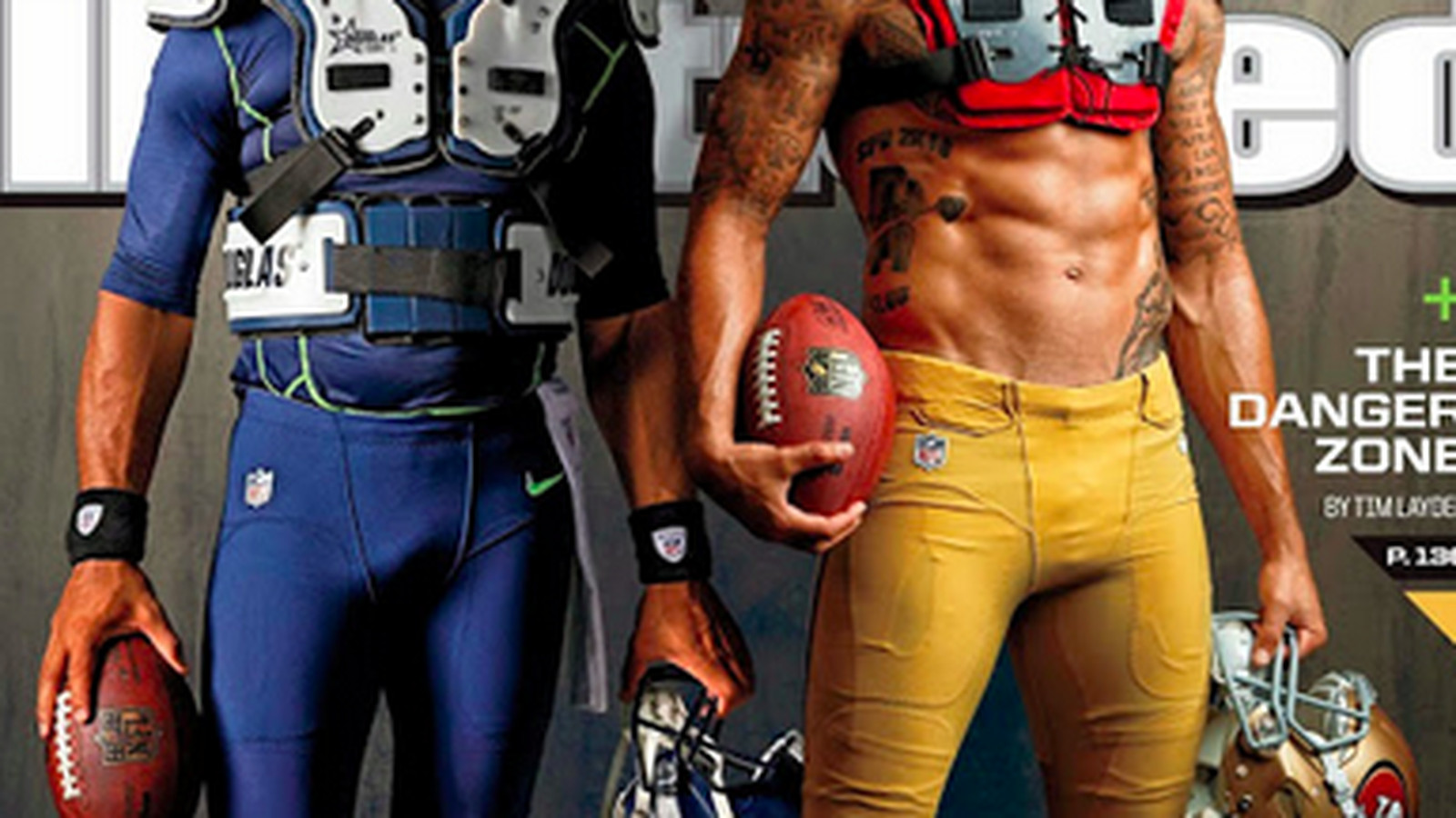 Sports Illustrated Cover Features Kaepernick S Abs