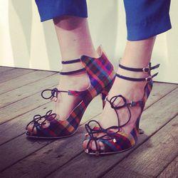 """More Sophia Webster. Image via <a href=""""http://instagram.com/p/eFRVfOotuR/#"""">Elle UK</a>/Instagram."""