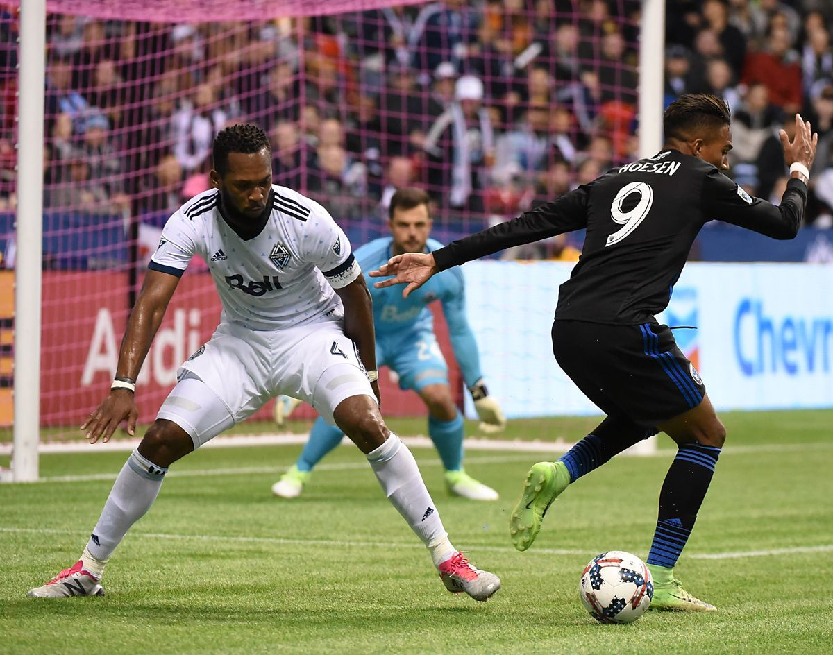 MLS: Western Conference Knockout Round-San Jose Earthquakes at Vancouver Whitecaps