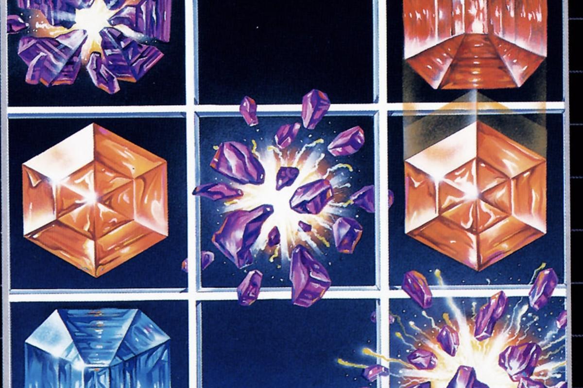 The box art for Columns on the Sega Genesis