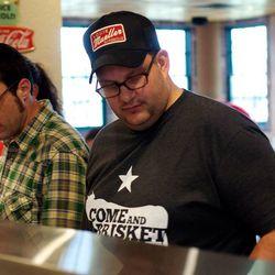 Texas Monthly's barbecue editor Daniel Vaughn